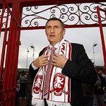 Boros Best Images: Tony Mowbray at Ayresome Park gates on his Riverside return as manager @alibrownlee @lovembro http://t.co/fR4x0Qer5R