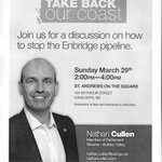 Stop Enbridge pipeline today with @nathancullen 2-4pm, Sun, Mar 29, St Andrews on the Square, #Kamloops http://t.co/lQWn7NXWEi
