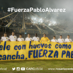 #FuerzaPabloAlvarez el Pueblo Canalla está con vos y tu familia http://t.co/4XBZ2KX7FV