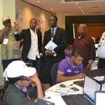 @PaLaminBeyai , CD of @UNDP on tour of @tmgngs NIC with Dr Takwa Zebulon #NigeriaDecides #Nigeria2015 @lazapir http://t.co/Kusp4CcjFW