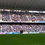 Comienza el partido #RealOviedo - UP Langreo #8finales #VamosOviedo #LlenarElTartiere http://t.co/edoK5gp5ns