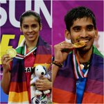 Double delight as Saina, Srikanth lift India Open Super Series titles http://t.co/vDYufTuUsb http://t.co/r2eNHlGFNz