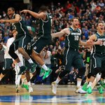 Spartans are 6th 7-seed or lower to make Final Four since 2011. UConn won it all last year as 7-seed. http://t.co/tDrS6tCg1R