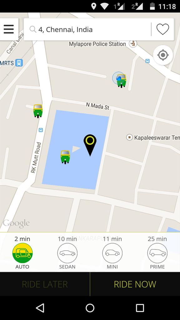 Hey @Olacabs it seems ur autos are amphibious.. And one of ur auto is swimming now http://t.co/ItPCNRazxb