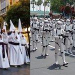 La diferencia entre una foto y otra, es que los fans de Star Wars saben que se trata de una historia de ficción... http://t.co/ImxZ4sjtcB