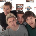 Harry: Hello Louis: We Niall: Are Liam: One Fandom: Direction yaii #OneDirection #TheyreTheOne @radiodisney http://t.co/h9YVTBhT3l
