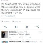 lol... @Muazuaa sucks at calculation. weve 36 States sir... This is not GOV Forum election @omojuwa @DeleMomodu http://t.co/ERM9tKI3gq