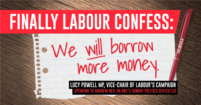 Eric Pickles (@EricPickles): Finally Labour confess: they WILL borrow more money - http://t.co/AIvq4LMPCY http://t.co/lqRmMOXg6w