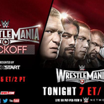 In just under 2 HOURS...it all gets started with the LIVE @WWE @WrestleMania 31 Kickoff Show! #WrestleMania http://t.co/Tx6kk0oHm1