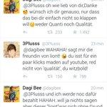 Und jetzt sagt mir nie wieder das Dagi Bee & co. nicht geldgeil seien & ihre Fans wirklich lieben. http://t.co/KxXANtA8hJ