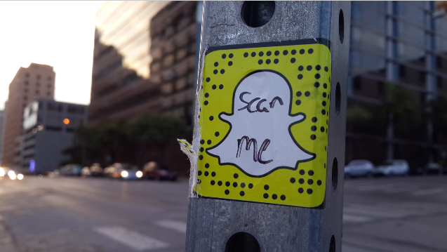 New trend: @snapchat QR stickers on the streets of Austin, TX. Get yours: @snickerapp https://t.co/qnIL8ws5b1 http://t.co/RlaQSTex0V