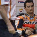 Dani Pedrosa anuncia que se baja de la moto de forma indefinida por problemas en su brazo http://t.co/4GZBGsP8Xq http://t.co/w5ZNzv8mBL