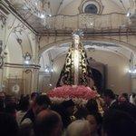 Recogida de la Virgen de la Soledad en la #CapilladelRosario Bienvenidos siempre @HermandadCuria #SomosLorca http://t.co/Y5apuoZKII