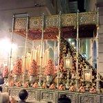 En Ganivet la Virgen de Las Maravillas para cerrar el paso de la tercera hermandad de este día http://t.co/wrOTAiu6Zg http://t.co/Do1AHQZNrJ