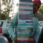 I love Delhi's streets when I  can buy books from my  car window. What about you?
