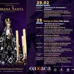 La tradición de la Semana Santa en nuestro bello estado. #Oaxaca #TradicionYCultura http://t.co/u5BVutiVCl