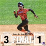 Mercer moves to 26-14 (2-1) with a 3-1 win over Western Carolina to take the series, 2-1 over the Catamounts. http://t.co/P4gLrdeo6y