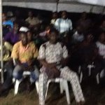 STILL WAITING: Voters at Isheri North are not joking with their vote. They are now counting with the INEC officials. http://t.co/hmV4zEK50e