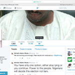 """@Muazuaa twitter account verified, claims victory in 23 states for @PdpNigeria in his official capacity as Chairman http://t.co/H2nzyhGhOF"""""""