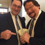 A #MoneyInc reunion w/I.R.S. at #WrestleMania weekend! Its tax season you know. 3-time @WWE Tag Team Champs. http://t.co/pQLlDsR79g