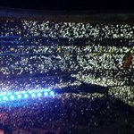 """Lights will guide you home"" Stadium during little things is always the most greatest thing ever #1DFAMHERETOSTAY http://t.co/Bpt264ASQX"