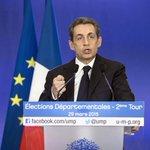Firme victoria de Sarkozy en las departamentales. Los socialistas, tercera fuerza tras Le Pen http://t.co/rUWU96gANu http://t.co/xG2SK8Pj4D