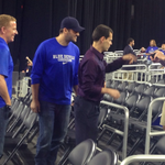 Good news for Gonzaga: Tony Romo in the house behind the Duke bench (via @laurakeeley) http://t.co/p9FdIIhPhE