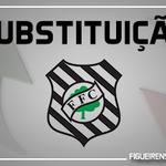 27 Alteração no Figueirense: Marcão entra no lugar de Mazola http://t.co/bmUAin33k0