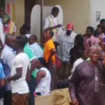 Voters waiting endlessly at about 5pm at Unit 6A, Offot Ward 2, Uyo LGA for election materials @eggheader @ogundamisi http://t.co/vnLbuPYM2y