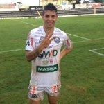 Douglas, artilheiro do Operário, foi o nome da partida! Operário 3 x 1 Rio Branco. Foto: Nicoly França http://t.co/uiTEzmUahs