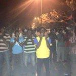 People of Bauchi praying Al-Qunut 4 Isah Yuguda in front of INEC office bauchi... Allahu Akbar!!!! ???????????? http://t.co/OBv1zcD2aV