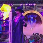 EVIL has returned!!  #Undertaker @WrestleMania http://t.co/Vd9ursaEWV