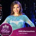 La última mexicana en la competencia necesita su apoyo. RT si votarán por #NBLMariana http://t.co/RGTdhYtOUN