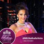 RT @NuestraBelleza: #NBLNathalia vuelve a estar en la cuerda floja. RT si volverás a votar por ella http://t.co/1lSzFrfdpJ