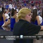 VIDEO: A camera caught a very slick nod during the Duke-Gonzaga #Elite8 game http://t.co/UpiSutrME2 http://t.co/3E4oygFXdK