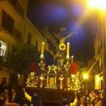 La Hiniesta por Dña. María Coronel #DirectoCofrade #DomingoDeRamos http://t.co/DytpmDwaUr