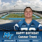RT to wish Connor Trent a Happy Birthday. #BlueRaiders http://t.co/5lwuJWPMhL