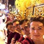 Gran día, enhorabuena costaleros @TronoSanJuan! Viva San Juan! Viva la Virgen de la Amargura! Viva el @PasoBlanco_3! http://t.co/F46bXQk8xN