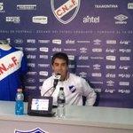 Autor de tres goles en la victoria de Nacional 5-3 ante Atenas, @carlosdepena en conferencia de prensa http://t.co/EjCAPEZxCP