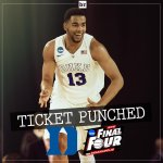 Duke beats Gonzaga 66-52 and the #FinalFour is set! Well have three No. 1 seeds and Tom Izzos No. 7 Spartans http://t.co/O3AWVK5TJt