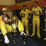Amazing images and access from @CricketAUS and players as we celebrate winning another Cricket World Cup! #CWC15 http://t.co/RF7RBDhZDF