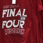 Hey, Badgers fans! Have you geared up? Tons of fans got their official Final Four gear today. http://t.co/DHGklzztgW http://t.co/VB5AbqvRMB