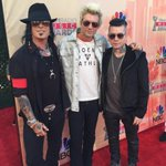 Doing it @SixxAM style at the @iHeartRadio #iheartawards right now @james_a_michael @DjASHBA http://t.co/zg4EOiJSMK