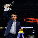 Coach K is 12-7 all-time in Final Four games. Krzyzewski is seeking his 5th career national title. http://t.co/rdtvWlQg2J
