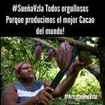Que rico es nuestro chocolate verdad? Tenemos más que petróleo... #SueñaVzla #ArtistasPorVzla http://t.co/o7N9cLFtt1