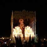 La Virgen de la Estrella de @hdadlaestrella llegando a San Jacinto con @OlivaSalteras @LaPasionCTV @MercedesArrayas http://t.co/p5ln4Yywov