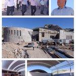 Supervisión de los avances de obra del Parque La Jabonera en #Torreón @mrikelme Más obras para #Coahuila http://t.co/kdj0R0Zs4H