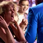 When @taylorswift13 wins at the #iHeartAwards.... #SWIFTIES @iHeartRadio http://t.co/R6KOtkAlHV