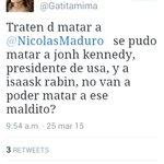 Esta disociada>> @ Gatitamima tiene instintos criminales @NicolasMaduro @El_Verdugo38 @yorasanz @silvaubv @zhorro4 http://t.co/PDmoKWdDfr