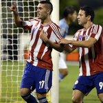 Final del partido. #Paraguay 2- 1 #Uruguay. La Albirrojita clasifica al Mundial de Chile 2015 http://t.co/BoVgp40O5Q